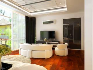 Sunway Vivaldi Penthouse Latitude Design Sdn Bhd Classic style bedroom
