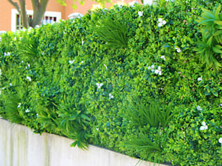 Artificial Living Wall for Privacy: modern  by SUNWING GREEN, Modern