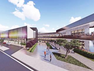 Kültür Ve Yaşam Merkezi (Avm|Ticari, Konut Karma Yapı) CM² Mimarlık ve Tasarım Stüdyosu Modern