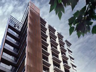 紅樹林-泊山石社區 根據 長弘建築師事務所 現代風