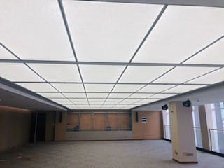 Office Building Ceiling Lighting Design by MAX Illumination Modern
