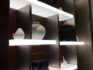 Display Shelf LED Panel Modern Home Wine Cellar by MAX Illumination Modern