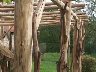 Pergolas Châtaignier par O Création Bois Rustique