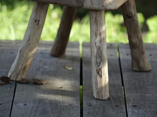 Tabourets par O Création Bois Rustique