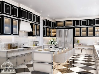 Eclectic style kitchen by Algedra Interior Design Eclectic