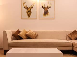 Salas de estilo minimalista de Sahiba's Design Studio Minimalista