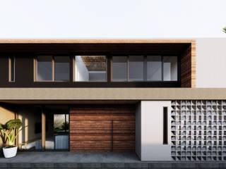 Saulo Magno Arquiteto Rumah tinggal Kayu Grey