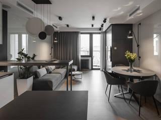 Minimalist living room by U-Style design studio Minimalist
