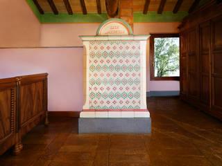 Stufe in maiolica tradizionali Camera da letto in stile classico di Prometeo Stufe Classico