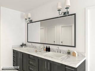 Дизайн дома в Вашингтоне в стиле Modern Traditional Ванная комната в эклектичном стиле от Kiev Design Online Studio Эклектичный