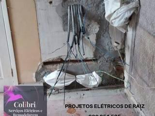Colibri Serviços Elétricos Dom wielorodzinny Bambus Beżowy
