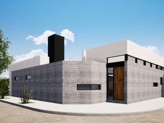 Vivienda Unifamiliar en Sicardi de Mc Govern estudio de arquitectura Moderno