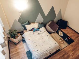 盧森堡。林宅 小福砌空間設計 Nursery/kid's room