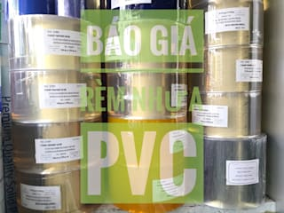 MÀN NHỰA PVC: tối giản  by Vật Liệu Nhà Xanh, Tối giản