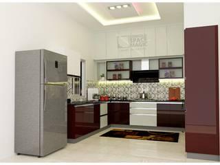 Comfold ห้องครัวตู้เก็บของและชั้นวางของ