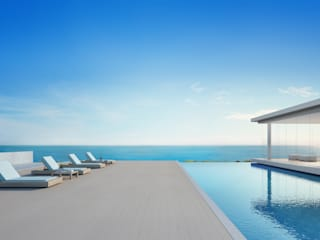 Casas de estilo mediterráneo de Key Design s.r.l Mediterráneo
