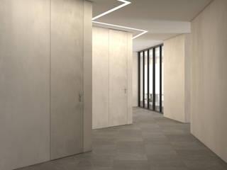 office restyle HENMADE Negozi & Locali Commerciali Ceramiche Beige