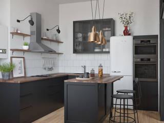 Обсерваторная Кухня в классическом стиле от Неевроремонт Классический