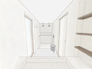 bathroom design van Noemi Cavallero. interiordesign