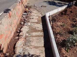 Remodelação de terraço Roger Remodelações- Reparações Varandas, marquises e terraços clássicas Amarelo