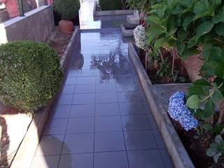 Remodelação de terraço Roger Remodelações- Reparações Varandas, marquises e terraços clássicas Cinzento