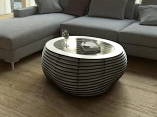 form.bar Living roomSide tables & trays Engineered Wood White