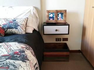 Dormitorios modernos: Ideas, imágenes y decoración de Azohia Design - Diseño y Decoracion Maria Alejandra Bucher EIRL Moderno