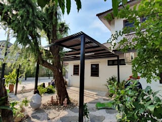 ปรับปรุงภูมิทัศน์ Muangtongthani Village 27 โดย Trimitcivil&engineering ทรอปิคอล