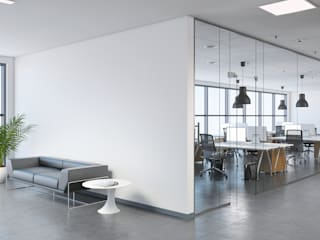 Office Interior Designing: industrial  by Home2Decor - Interior Designers in Bhopal,Industrial