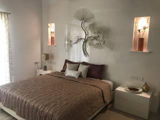 Resident sample house,Bangalore Modern style bedroom by SP DESIGN STUDIO Modern