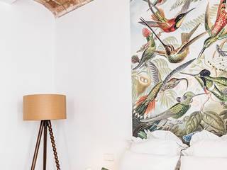 Modern style bedroom by Baena Casamor Arquitectes BCQ, slp Modern