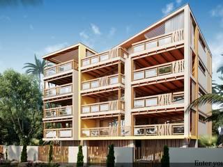 Mediterrane Häuser von Компания архитекторов Латышевых 'Мечты сбываются' Mediterran