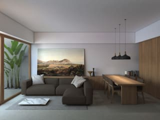 B|L House Modern living room by ALESSIO LO BELLO ARCHITETTO a Palermo Modern