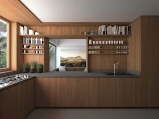B|L House Modern kitchen by ALESSIO LO BELLO ARCHITETTO a Palermo Modern