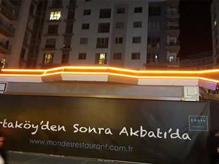 Mon&Des Restaurant aydınlatması ve montajı TECHNICLIGHT LED AYDINLATMA Eklektik