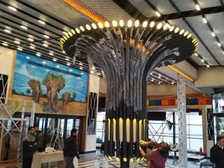 Mon&Des Restaurant aydınlatması ve montajı Eklektik Evler TECHNICLIGHT LED AYDINLATMA Eklektik