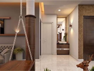 Monnaie Interiors Pvt Ltd Classic style bathrooms