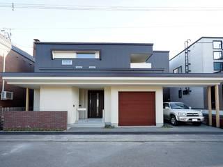 車椅子住宅 house@h&m の アウラ建築設計事務所 モダン
