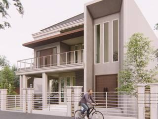 PLAJU HOUSE Rumah Gaya Industrial Oleh ARK-chitect studio Industrial