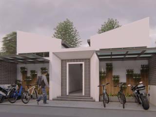 LEMABANG KOS Rumah Gaya Industrial Oleh ARK-chitect studio Industrial