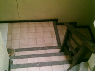 Ampliación de escaleras para oficinas - Antes de Rabell Arquitectos