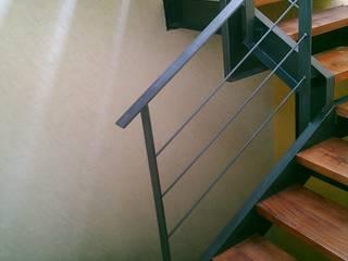 Ampliación de escaleras para oficinas - Después de Rabell Arquitectos
