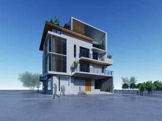 Casas modernas de 尋樸建築師事務所 Moderno