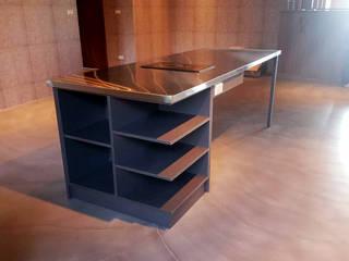 八里萊茵堡案 根據 微.櫥設計/We.Design Kitchen 工業風