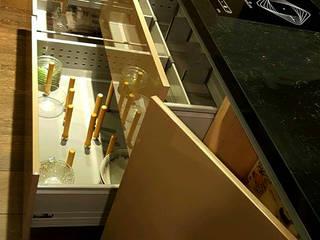 士林顧公館案: 現代  by 微.櫥設計/We.Design Kitchen, 現代風