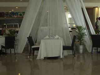 Cortina tipo Pabellón de ACY Diseños & Muebles Mediterráneo