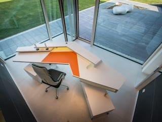Modern Study Room and Home Office by Avantecture GmbH Modern