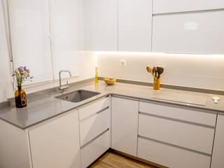 Reforma de vivienda en Getxo de BR&C arquitectos Moderno