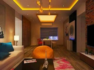Luxury Interior Design Services Modern corridor, hallway & stairs by Wood Works Club Pune Modern