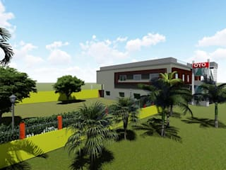 marriage hall for Mr.Sumit by G.L.A.D STUDIO Modern